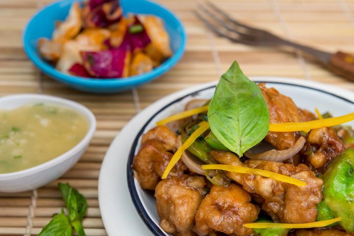 Chili Basil Chicken