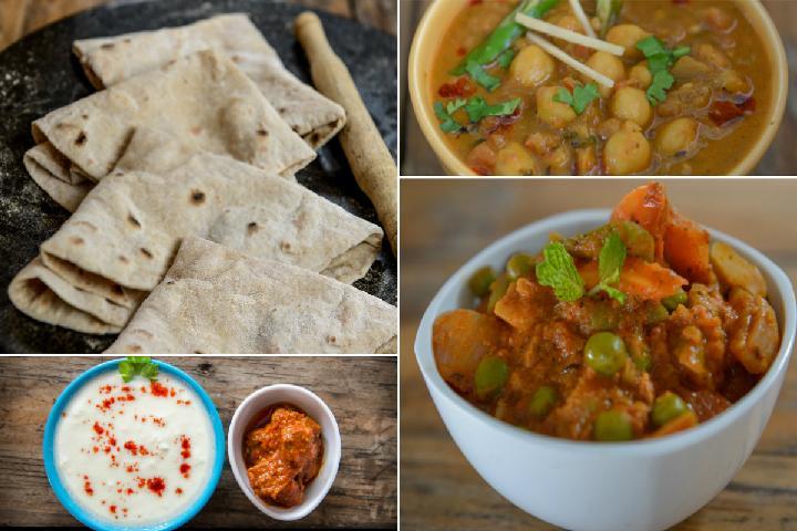 Veg Kadhai Meal Box 2