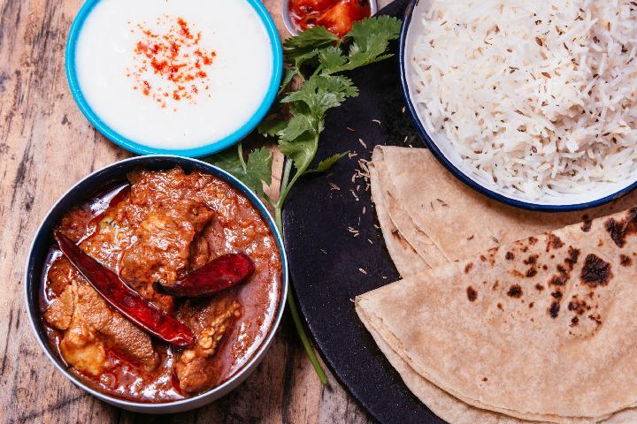Rajasthani Laal Maas Meal