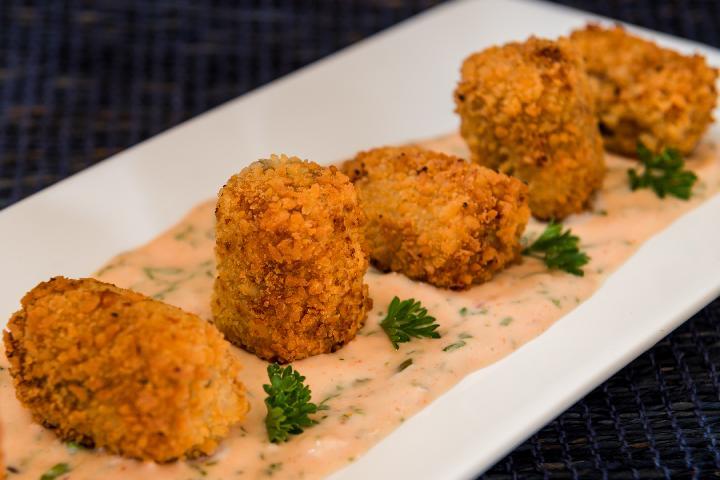 Jalapeno and Potato Croquettes