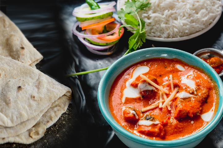 Murg Makhani with Rice