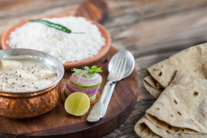 Paneer Kalimiri with Rice