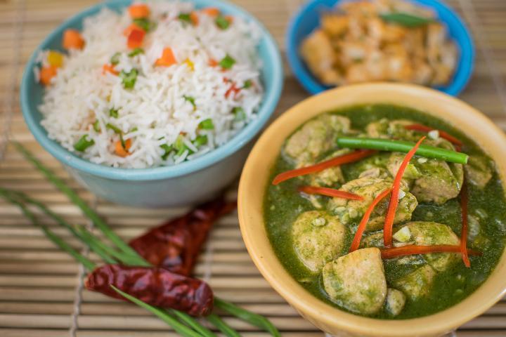 Jade Chicken Curry