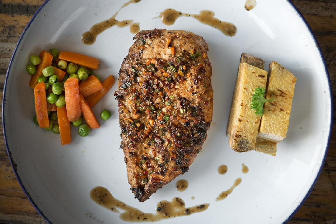 Blackened Chicken with Mirepoix