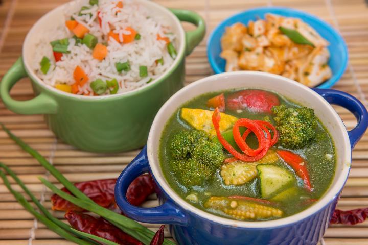 Jade Veg Curry