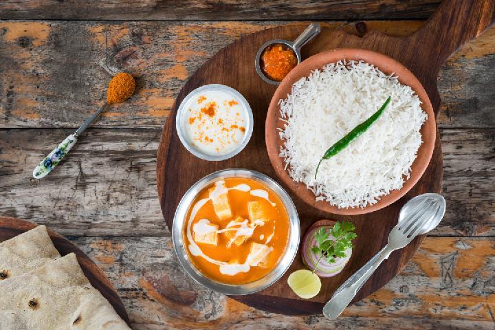Paneer Makhani with Rice
