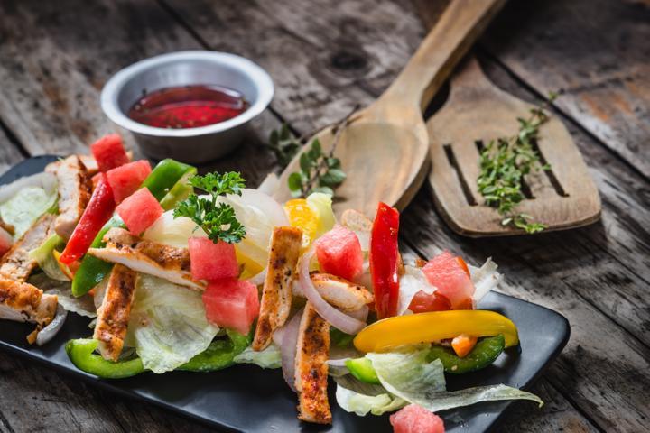 Chicken and Watermelon Salad