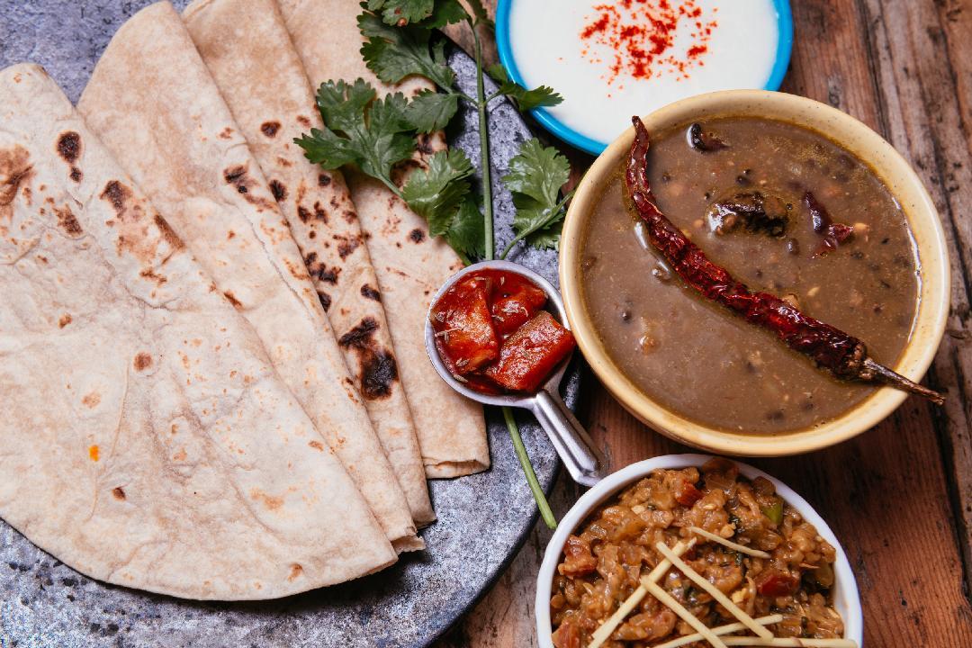 Rajasthani Baingan Bharta Meal