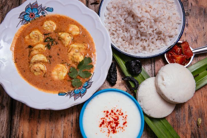 Goan Prawn Curry Meal