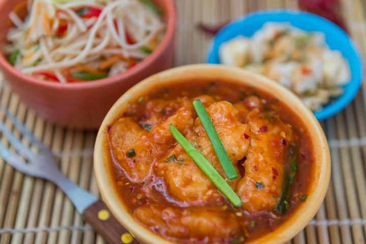 Fish Hot Garlic
