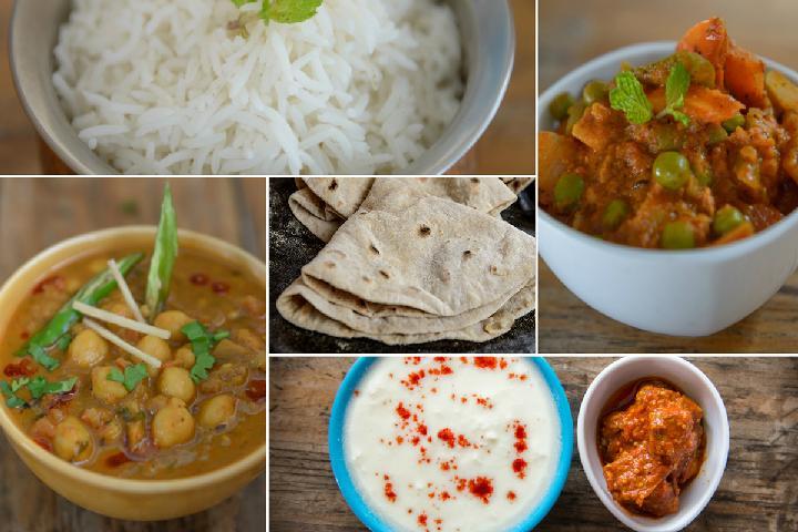 Veg Kadhai Meal Box 1
