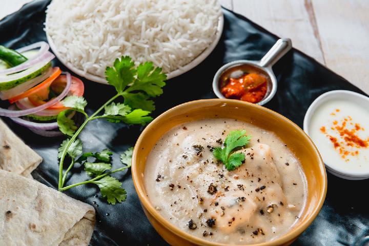 Murg Kalimiri with Rice