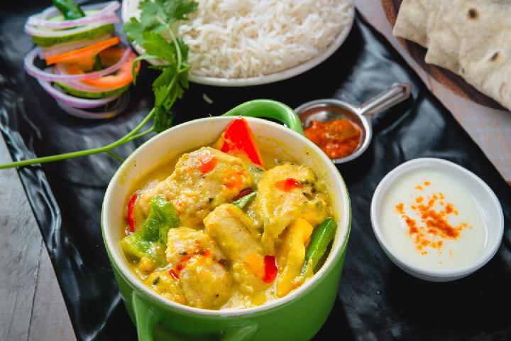 Murg Handi with Rice