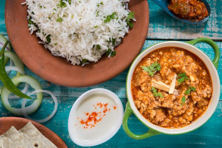 Rara Gosht with Rice
