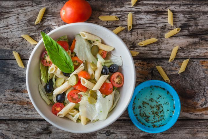 Veg Italian Pasta Salad